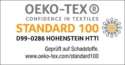 Ooeko-Tex Standard 100 Label D99-0286_de Breckle Weida