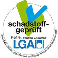 LGA schadstoffgeprüft - Breckle Weida