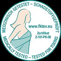 fktev Zertifikat medizinisch getestet schadstoffgeprüft - Breckle Weida